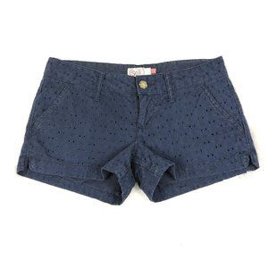 SO Blue Shorts Low Rise Size 3